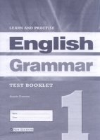 LEARN & PRACTISE ENGLISH GRAMMAR 1 TEST BOOKLET