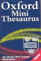 OXFORD MINI THESAURUS 3rd Edition