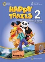 HAPPY TRAILS 2 PUPIL´S BOOK + AUDIO CD PACK