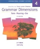 GRAMMAR DIMENSIONS: FORM, MEANING AND USE Book 4