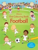 First Colouring Book: Football