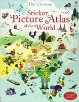 Sticker Picture Atlas of the World (Sticker Book)