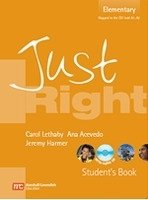 JUST RIGHT ELEMENTARY STUDENT´S BOOK + CD