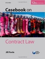 Casebook On Contract Law 12th Ed.