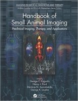 Handbook of Small Animal Imaging : Preclinical Imaging, Therapy, and Applications