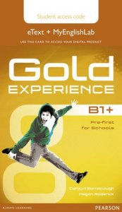 Gold Experience B1+ Stud.'s eText Access Card