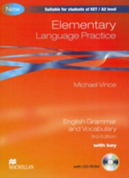 Elementary Language Practice New Ed.: With Key + CD-ROM Pack - Michael Vince
