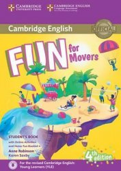 Fun for Movers Student´s Book with Online Activities with Audio and Home Fun Booklet 4 - Anne Robinson