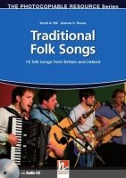 The Photocopiable Resources Series: Traditional Folk Songs From Britain and Ireland + Audio CD