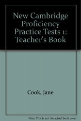 NEW CAMBRIDGE PROFICIENCY PRACTICE TESTS 1 TEACHER´S BOOK