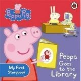 Peppa Pig: Peppa Goes to Library