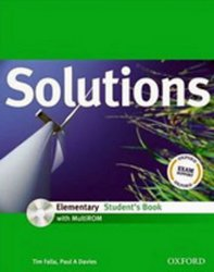 Maturita Solutions Elementary Student´s Book with Multi-ROM (CZEch Edition) - Tim Falla