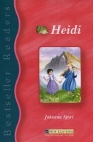 BESTSELLER READERS 1: HEIDI + AUDIO CD PACK