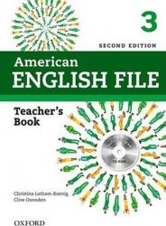 American English File 3 Teacher´s Book with Testing Program CD-ROM (2nd)