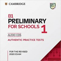 B1 Preliminary for Schools 1 for revised exam from 2020 Audio CD