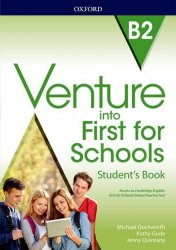 Venture into First for Schools Student´s Book Pack
