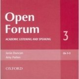 Open Forum 3 Class Audio CDs /3/
