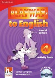 Playway to English Level 4 Activity Book with CD-ROM - Günter Gerngross