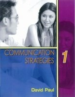 COMMUNICATION STRATEGIES Second Edition 1 STUDENT´S BOOK