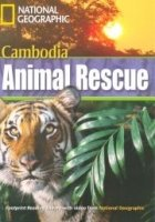 FOOTPRINT READERS LIBRARY Level 1300 - CAMBODIA ANIMAL RESCUE + MultiDVD Pack