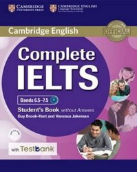 Complete IELTS Bands 6/7.5 Student´s Book without Answers with CD-ROM with Testbank