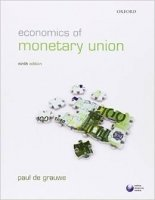 Economics of Monetary Union 9th Ed.