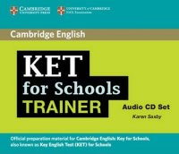 KET for Schools Trainer: Audio CD (2)