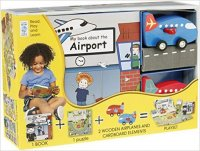 My Little Book about Airplanes(Book, Wooden Toy & 16-piece Puzzle) - neuveden