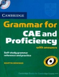 Cambridge Grammar for CAE and Proficiency With Answers + Audio CDs /2/ Pack - Hewings, Martin