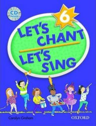 Let´s Chant, Let´s Sing 6 Book + Audio CD Pack - Caroline Grahamová