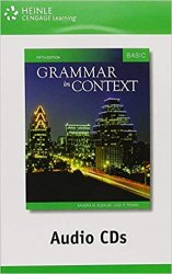 GRAMMAR IN CONTEXT 5th Edition BASIC AUDIO CD