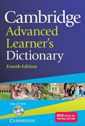 Cambridge Advanced Learner´s Dictionary 4th edition Paperback with CD-ROM - Lucie Hlavatá
