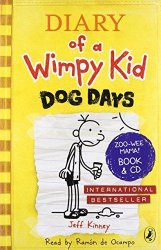 DIARY OF A WIMPY KID 4: DOG DAYS - BOOK AND CD
