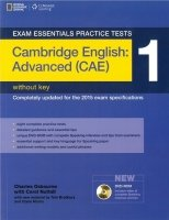 EXAM ESSENTIALS PRACTICE TESTS: CAMBRIDGE ENGLISH: ADVANCED (CAE) 1 with DVD-ROM without KEY