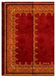 Paperblanks 2014 Foiled Midi 12 Vertical Diary