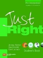 JUST RIGHT PRE-INTERMEDIATE STUDENT´S BOOK + CD