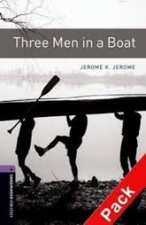 OXFORD BOOKWORMS LIBRARY New Edition 4 THREE MEN IN A BOAT AUDIO CD PACK
