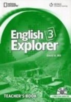 ENGLISH EXPLORER 3 TEACHER´S BOOK + CLASS AUDIO CD PACK