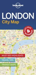 Lonely Planet London City Map 1.