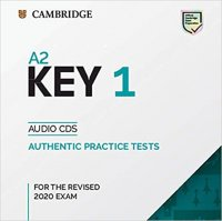 A2 Key 1 for revised exam from 2020 Audio CD