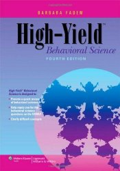 High-Yield Behavioral Science, 4th Ed.