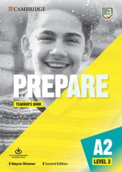Prepare 3/A2 Teacher´s Book with Downloadable Resource Pack,2nd - neuveden