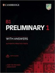 B1 Preliminary 1 for revised exam from 2020 Student´s Book with Answers with Audio