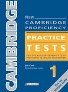 NEW CAMBRIDGE PROFICIENCY PRACTICE TESTS 1 STUDENT´S BOOK WITH KEY + CD PACK