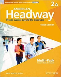 American Headway 2 Student´s Book + Workbook Multipack A (3rd)
