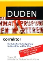 DUDEN KORREKTOR FÜR OPEN OFFICE/STAR OFFICE 6.0