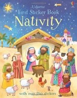 First Sticker Book Nativity (First Sticker Books)
