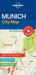 Lonely Planet Munich City Map 1.