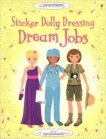 Sticker Dolly Dressing: Dream Jobs (Usborne Sticker Dolly Dressing)