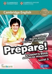 Prepare 3/A2 Student´s Book and Online Workbook with Testbank - Joanna Kosta